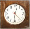Hammond electric wall clock