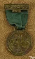 John W Davis notification medal