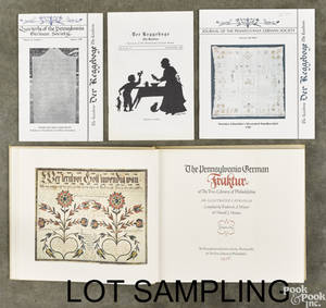 Folk art and Pennsylvania German decorative arts reference books and pamphlets