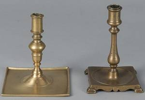 Spanish brass candlestick
