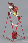 Linemar Mickey Mouse windup acrobat toy
