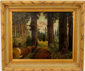 American School Forest View wMountain Oil