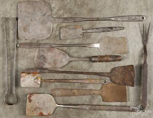 Wrought iron utensils