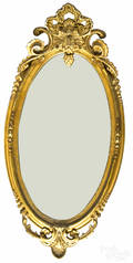 Empire giltwood mirror