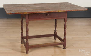 Painted pine tavern table
