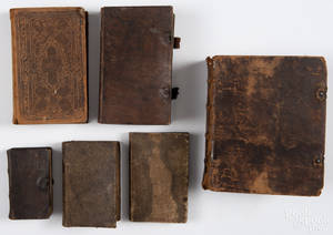 Six German books on religious subjects