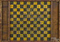 Painted pine gameboard