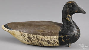 New Jersey carved and painted brant duck decoy ca 1900