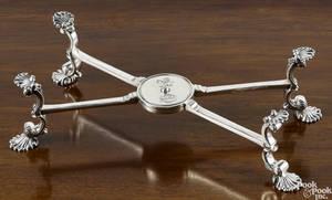 English silver dish cross ca 19221923