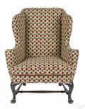 George II mahogany easy chair ca 1740