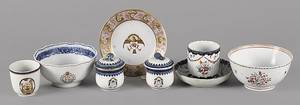 Group of Chinese export porcelain 18th19th c