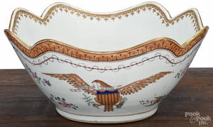 Chinese export porcelain bowl for the American market 19th c