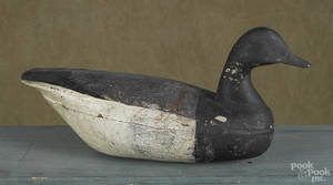 New Jersey carved and painted brant duck decoy earlymid 20th c