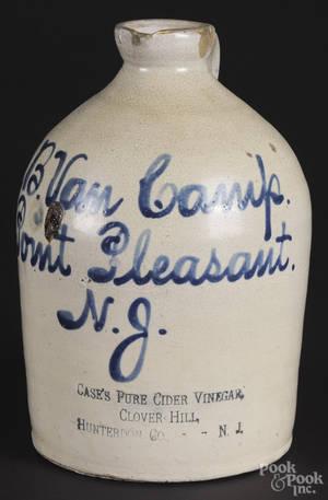 New Jersey stoneware jug