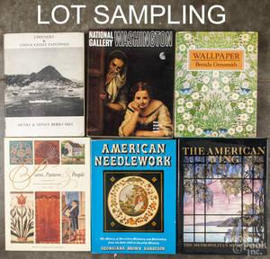Decorative and fine arts reference books