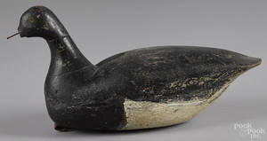 Long Island New York carved and painted brant decoy early 20th c