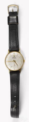 Omega 18k gold  Seamaster  wrist watch