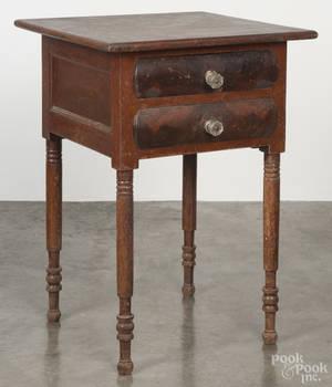 Empire cherry and mahogany work stand