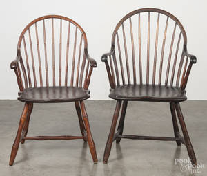 New Jersey bowback Windsor armchair