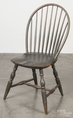 Bowback Windsor side chair