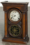 Ingraham rosewood Venetian shelf clock