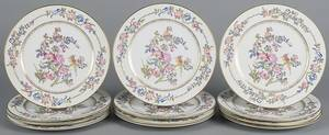 Set of twelve Rosenthal porcelain plates