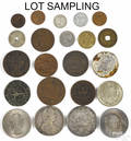Large collection of assorted foreign coins