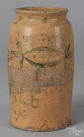 Earthenware jar dated