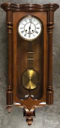 Vienna mahogany wall clock