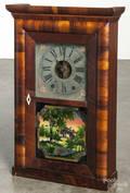 Mahogany shelf clock