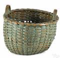 Pennsylvania split oak basket 19th c