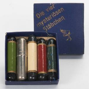 Four Mysterious Rods German ca 1910 Set of four