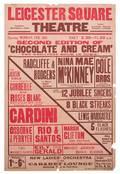 Cardini Leicester Square Theatre playbill