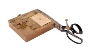 113 Brass Card Trimmer George Graham ca 1940