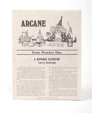 Arcane Jeff Busby N1 Oct 1 1980  N14 Oct95