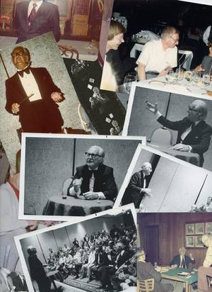 273 Group of 20 photographs of Dai Vernon