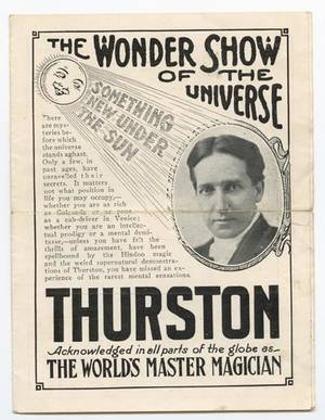 346 Group of six pieces of Thurston ephemera