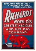 279 Richards Worlds Greatest Magician poster