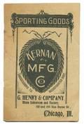 289 Two Kernan Mfg Co catalogues ca 1900
