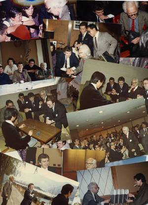 372 Group of over 70 photographs of Dai Vernons 1981