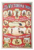 285 The Great Victorina Troupe Onesheet lithograph