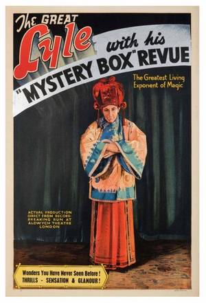 Lyle Cecil The Great Lyle with his Mystery Box Revue