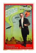 11 Brush the Great Magician lithograph ca 1920
