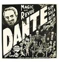 24 Dante Magic Revue six sheet poster ca 1946