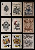 Three Miscellaneous Steamboat Decks of Playing Cards
