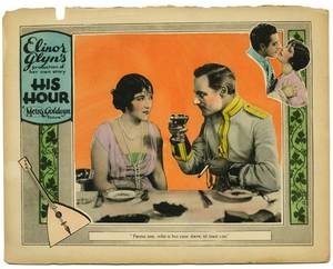 His Hour MGM June 1923 Silent movie lobby card 11