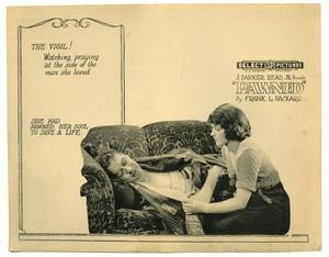 Pawned Select Pictures 1922 Silent movie lobby card