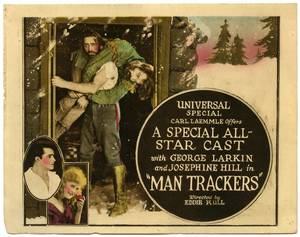 Man Trackers Universal Special 1921 Silent movie