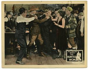 The Hunted Woman William Fox 1925 Silent movie lobby
