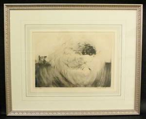 Louis Icart Voice of the Cannon Print